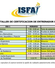 Programa Seminario ISFA